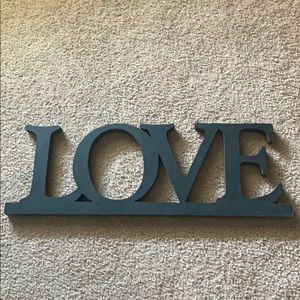 Other - Love wooden sign